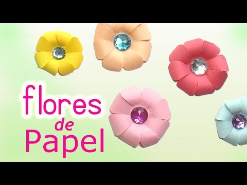 Flores De Papel Gigantes Manualidades
