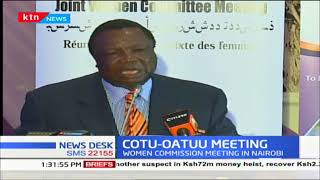 COTU-OATUU Conference underway