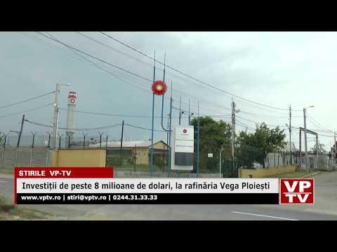 Investiții de peste 8 milioane de dolari, la rafinăria Vega Ploiești