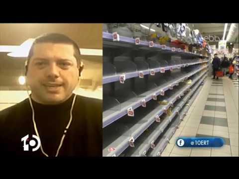 Πως βιώνουν την κατάσταση με τον κορονοϊο οι Έλληνες που βρίσκονται στην Ιταλία | 24/02/2020 | ΕΡΤ