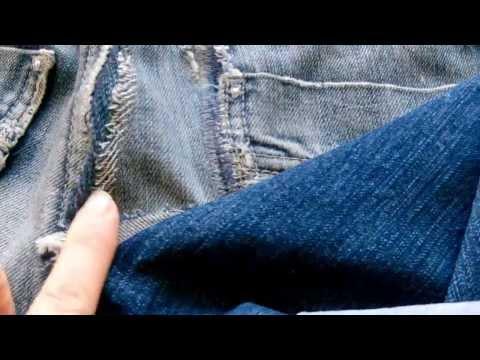 comment reparer accroc jean