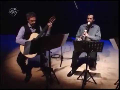 CHAMAMÉ EN FRANKFURT (Luis Zanazzo)- Guitarra y flauta de pico tenor