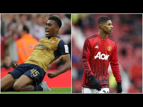 "Alex Iwobi vs Marcus Rashford ► | ""Red Kids"" | By Football Highlights - 2016"