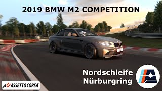 2019 BMW M2 Competition in Nordschleife Nürburgring GoPro FPV - Assetto Corsa