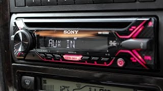 Aftermarket Stereo Install