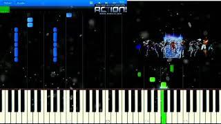 Descargar MP3 de Saint Seiya Opening 1 Piano Synthesia gratis