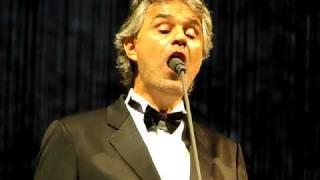 Andrea Bocelli - White Christmas - Birmingham - November 2009 - Live