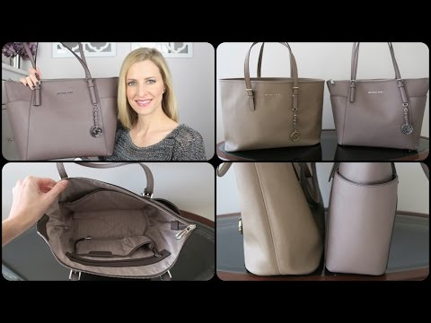 Michael Kors Top Zip Tote Review & Comparison | #michaelkors