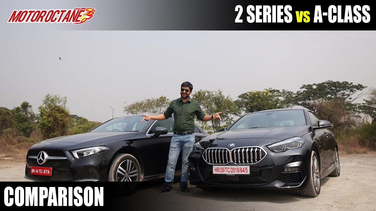 Motoroctane Youtube Video - Mercedes A-Class vs BMW 2 Series Comparison
