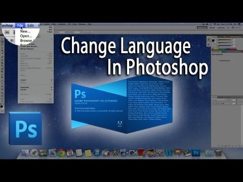 How To Change The Language On Photoshop CS5 | To English | Tutorial | Mac & Windows!