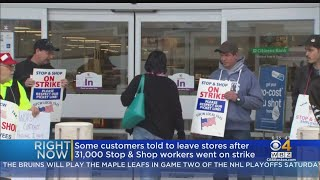 Stop & Shop Stores Open During Strike With Temporary Workers