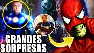 ¡SORPRESA! Adiós Black Panther, Marvel Studios presenta fase 4 y 5, Serie de invasión secreta y más