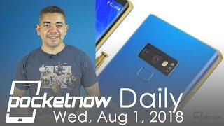 Samsung Galaxy Note 9 leaked on video, Huawei Mate 20 Pro & more - Pocketnow Daily