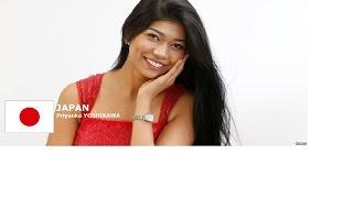 Priyanka Yoshikawa Contestant from Japan for Miss World 2016 Introduction