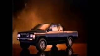 Nissan Compact Pickup Trucks - Ad From 1986