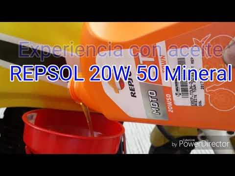 Experiencia aceite REPSOL 20w 50 pulsar 2