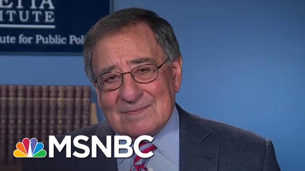 Leon Panetta: Unpredictability Okay If There Is An Underlying Strategy | The 11th Hour | MSNBC thumbnail