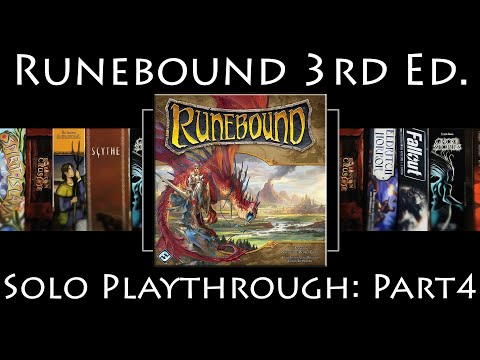 Runebound 3rd Edition: Rules Overview & Solo Playthrough | The Ascendance of Margath | Part 4