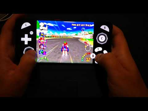 Mario Kart Double Dash On Samsung Galaxy S8+ Dolphin