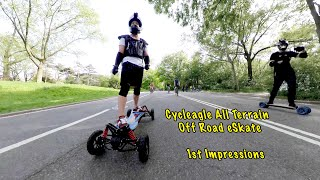 CYCLEAGLE All Terrain Electric Skateboard -  How is it??