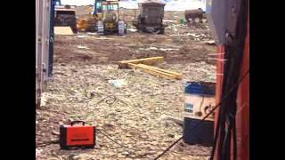 Геологоразведка.строим вахтовый поселок