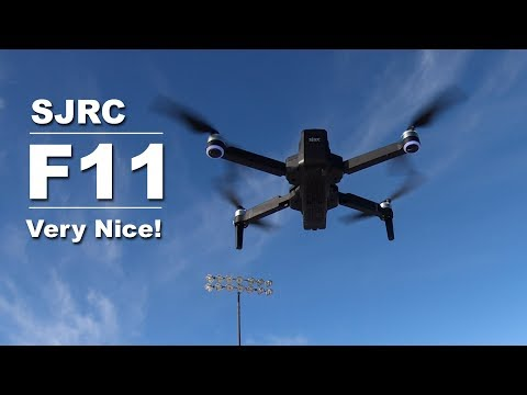 My Review of the SJRC F11 GPS Drone – It is a Good Drone for the Price!