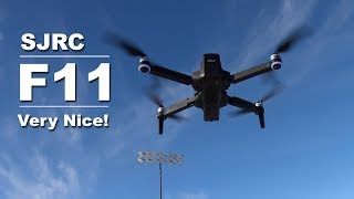 My Review of the SJRC F11 GPS Drone - It is a Good Drone for the Price!