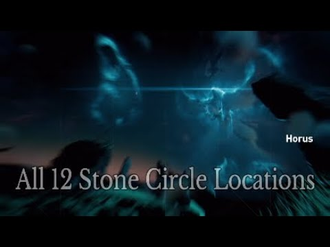 assassin s creed origins all 12 stone circle locations
