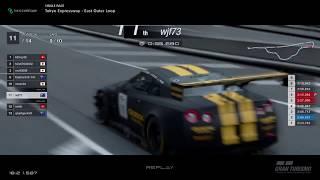 Gran Turismo™SPORT - Tokyo Expressway Nissan GTR Gr3 (online race)