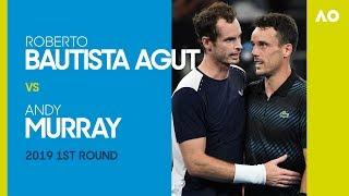 AO Classics: Roberto Bautista Agut V Andy Murray (2019 1R)
