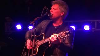 Jon Bon Jovi Destination Anywhere 3/19/16 Nashville