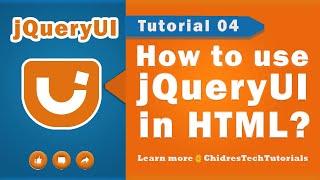jquery ui video tutorial 04 - Using  jQueryUI