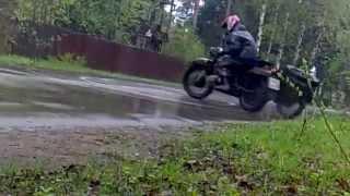 А на что способен тяжелый мотоцикл Урал/Днепр?:)
