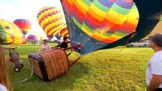 Hot Air Balloon - Preparation, Take Off and Flight How Do Hot Air Balloons Work? Balloon Fest