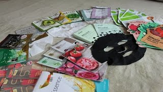Sheet Mask Empties & Reviews | Best & Worst & Where To Buy