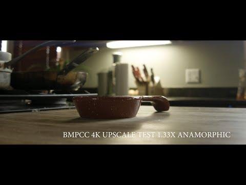 BMPCC 4K Upscale test 1 33x Anamorphic (2017)
