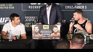 Luke Rockhold Went Off on Michael Bisping in a NSFW Tirade at the UFC 199 Post-Fight Presser