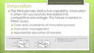 John Kay's Distinctive Capabilities