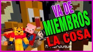 VA DE MIEMBROS LA COSA | C/ LUH, GONA Y MACU | BUILD BATTLE