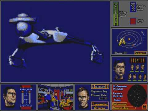 Star Trek - The Rebel Universe (Atari ST)