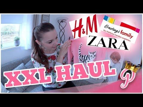 XXL Kleinkind Haul Herbst l Mädchen l H&M - About You - Zara - Ernstings Family