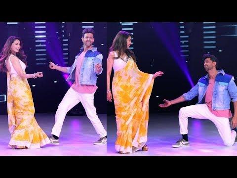 Download Madhuri Diit And Hrithik Roshan Dance In Jhalak Dikhlaja