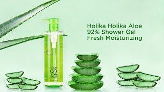 Гель для душа Aloe 92% Shower Gel превью видео 2