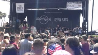 Neck Deep - All Hype, No Heart Live Warped Tour Pomona 6/20/14