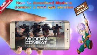 modern combat 3 v1.1.4g mod apk data
