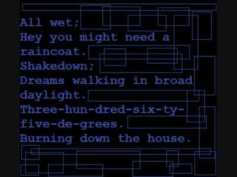 Música Burning Down the House