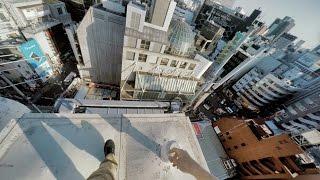 東京パルクール屋上アスリートの視点