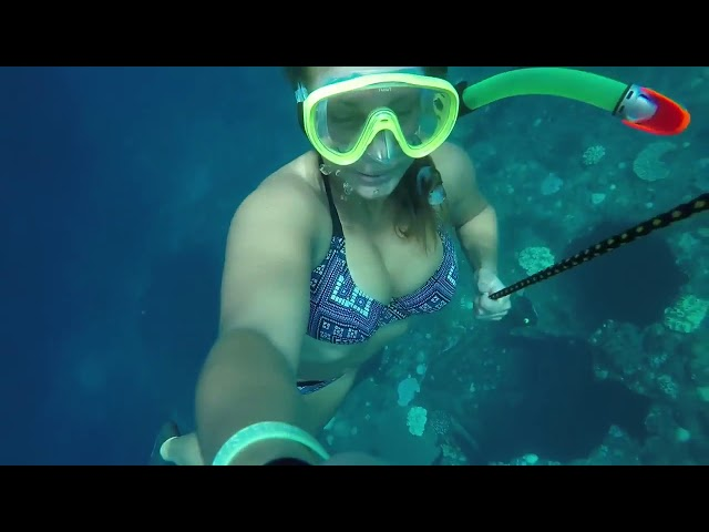 Learn Freediving Skills With This Girl