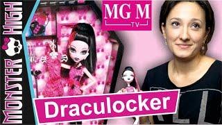 Дракулокер Drakulocker set Draculaura   Шкаф Дракулауры Monster High + Конкурс ★MGM★