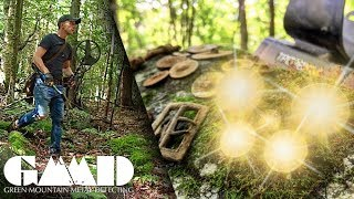 Treasure Hunter Discovers the Finds of a Lifetime!!   Metal Detecting Adventure